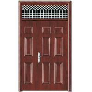 China indoor security iron gate design simple from nigeria,steel security door wholesale