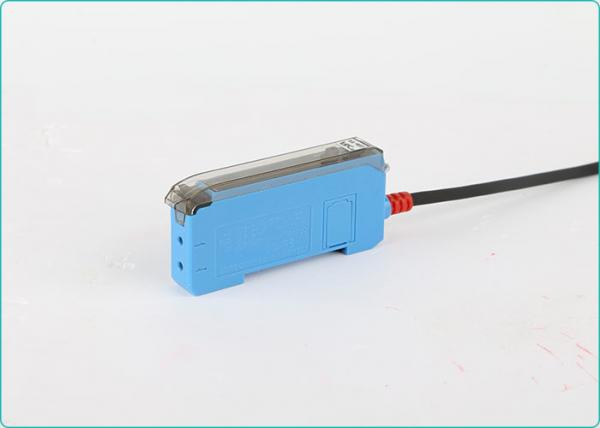 Quality One-key Setting Fiber Optic Industrial Automation Sensors Double Digital Display for sale