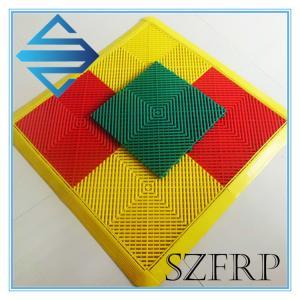 China Interlocking Plastic Floor Tiles wholesale