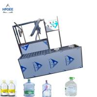 Buy cheap SS 304 Food Grade 5 Gallon Water Bottle Filling Machine PLC Control 2200 *2000 * from wholesalers