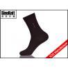 China Customized Black Dress Socks Breathable Mens Business Socks wholesale