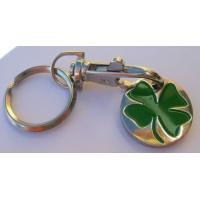 China Clover Trolley Coin Keyring wholesale