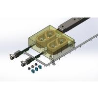 China High Output Biscuit Cooling Conveyor Automatic Spiral Tower Conveyors System wholesale