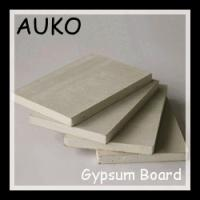 China common paper faced gypsum plasterboard/moisture resistant gypsum board/fireproof gypsum board for drywalls or partition wholesale