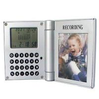China Recording Photo Frame with Calendar Display and Calculator on sale