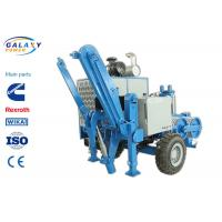 China 2.5km/H Electrical Cable Pulling Equipment , 4800kg Hydraulic Cable Puller wholesale