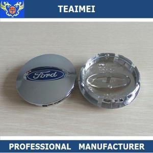 China Chrome 75mm Center Wheel Cover Hub Cap , ABS Plastic Alloy Wheel Cap wholesale