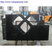 China granite kitchen countertop absolute black wholesale