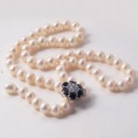 China Freshwater Pearl Necklace/925 Sterling Silver Jewelry, OEM and ODM Orders Welcomed wholesale
