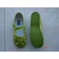 China Classic Chinese Wowen Casual Canvas Shoes wholesale