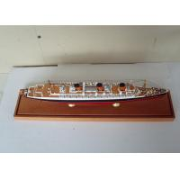 Scale 1:900 High End Queen Mary Model , Handcrafted Model Ships For Anniversary Collection
