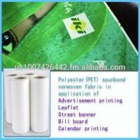 China Supply 100% polyester spunbond nonwoven fabric,Color,100% PET ,126Eco-friendly wholesale