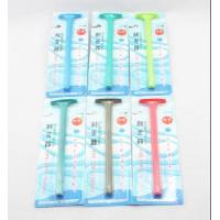 China Spiral handle curved scraping tongue cleaning scraping wholesale
