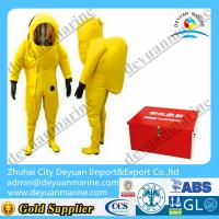China Lightweight Marine Fire Fighting Gear Fireman Chemical Protective Clothing wholesale