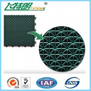 Buy cheap Tapis en caoutchouc de verrouillage de plancher d'exercice de polypropylène de carrelages de Futsal from wholesalers
