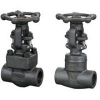 China Cast Iron Clamp forged steel gate valve , NPT Threaded End Connect wholesale