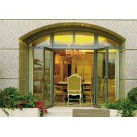 China Insulated Glass Aluminium Casement Door Waterproof With Grill CCC , ISO 9001 wholesale