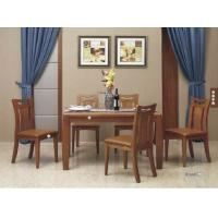 China Simple Contemporary Dining Room Furniture / Full Solid Wood Dining Table wholesale