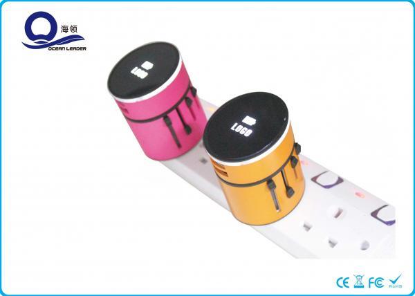Quality Dual Usb Universal USB Travel Charger , Universal USB Mobile Phone Charger for sale