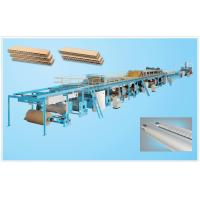Buy cheap 3/5/7-layer Corrugated Cardboard Production Line, Corrugated Cardboard Making from wholesalers