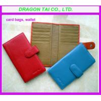 China Customized Wallet card holder, card to wallet, leather card holder, card case wallet wholesale