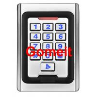 China Metal Keypad Stand Alone Proximity Card Reader , IP68 Waterproof Stand Alone Door Access on sale
