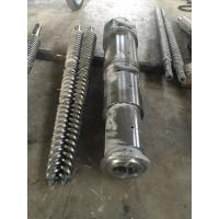 Buy cheap SJSZ Plastic Conical Twin Screw Extruder from wholesalers