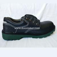 China Black Color Security Work Safety Shoes Police Shoes Anti-Smashing wholesale