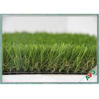 China HIGH Elasticity Outdoor Artificial Grass Field Green Monofil PE + Curled PPE Material wholesale