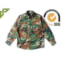 Buy cheap Woodland RipstopTactical Combat Uniform For Spring 65% Polyester 35% Cotton from wholesalers