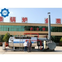 China China Factory 0.5t to 20 Ton Central Heating Natural Gas Diesel Light Oil Industrial Steam Boiler Price wholesale