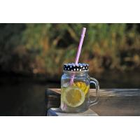 Quality Eco Friendly Colored Paper Straws , Custom Striped Paper Drinking Straws for sale