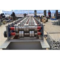 Buy cheap Red Steel Plc Controlling Equipment Aluminium Floor Deck Tile Roll Forming Machine from wholesalers