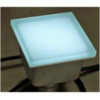 China Outdoor IP67 LED brick stainless steel body color changing led paving stone lights wholesale