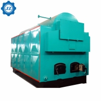 China Moving Grate Wood Chip Fired 2 Ton Steam Boiler For Woodworking Industry/Production Plant wholesale