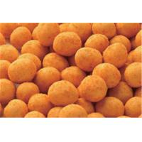China Yellow Color Coated Spicy Coated Peanuts Crackers Healthy Safe Raw Ingredient wholesale