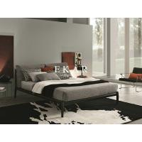 China Italian King Size Bed Frame Metal Bed on sale