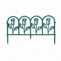 China Garden Furniture Fence Edging, Made of Plastic PP wholesale