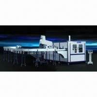China Automatic Blow Molding Machine with 2.3mm Thickness and 350mm Stretching Stroke wholesale