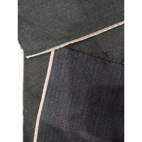 China 13.2oz Red Selvage Corduroy Cotton Soft Touch Navy Denim Fabric W2992-2 wholesale
