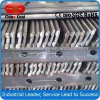 China Q235 S22 light steel rail and fish plate from China wholesale