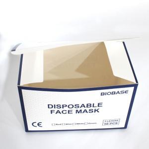 China Matte Lamination KN95 Masks Printed Corrugated Box wholesale