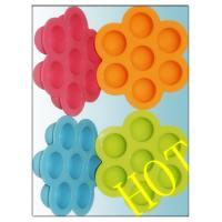 China Custom Silicone Fancy Ice Cube Tray For Chocolate Mold Wear Resistance wholesale