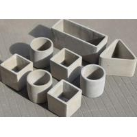 High Temperature Resistance Multi Shaped Silicone Pot Molds / Silicone Clay Vase Moulds