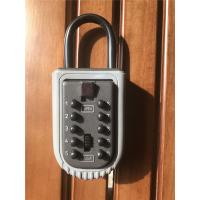 China Portable Push Button Door Key Lock Box Safe for Outdoor /  Security Key Box wholesale