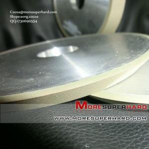 China 1V1 resin bond diamond grinding wheel for Oxide ceramic materials wholesale