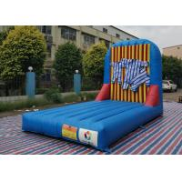 China Commercial Standard Inflatable Sticky Velcro Wall Games For Party wholesale