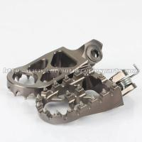 China Aluminum Adjustable Foot Pegs For Motorcycles on sale