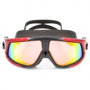 China Adjustable Waterproof Anti Fog Swim Goggles , Boys Swimming Goggles For Snorkeling wholesale