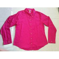 wholesale solid color women blouse ,autumn tops, Career's office ladies shirts stock lots